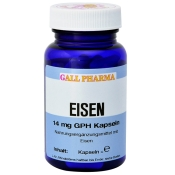 GALL PHARMA Eisen 14 mg GPH Kapseln