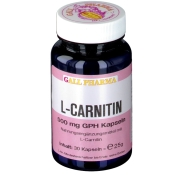 GALL PHARMA L-Carnitin 500 mg GPH Kapseln