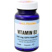 GALL PHARMA Vitamin B3 100 mg GPH Kapseln