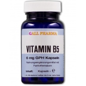 GALL PHARMA Vitamin B5 6 mg GPH Kapseln
