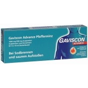 GAVISCON® ADVANCE Pfefferminz Suspension