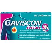 GAVISCON® Dual 250 mg / 106,5 mg / 187,5 mg