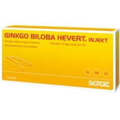Ginkgo biloba Hevert® injekt