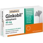 Ginkobil® ratiopharm 40 mg
