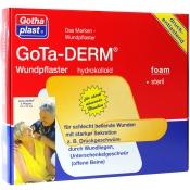 GoTa-DERM® thin steril Pflaster 10 x 10 cm