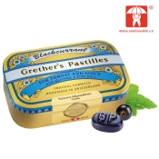 Grether's Blackcurrant Gold zuckerhaltige Pastillen