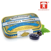 Grether's Blackcurrant Silber zuckerfreie Pastillen