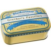 Grether's Blackcurrant Silber zuckerfreie Pastillen