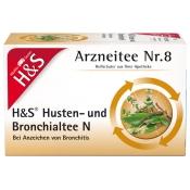 H&S Husten- und Bronchialtee N Nr. 8