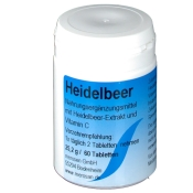 Heidelbeer Tabletten