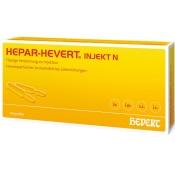 Hepar-Hevert injekt N Ampullen