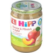 HiPP Banane und Pfirsich in Apfel