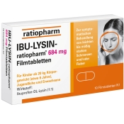 IBU-LYSIN ratiopharm® 684 mg