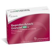 Ibuprofen-Actavis 400mg Granulat