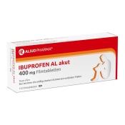 Ibuprofen AL akut 400 mg Filmtabletten