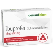 IBUPROFEN Schmerztabletten akut 400 mg