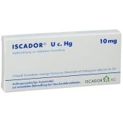 Iscador U c. Hg. 10 mg Ampullen