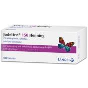 Jodetten® 150 Henning Tabl.
