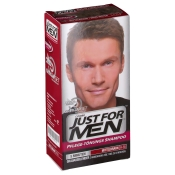 JUST FOR MEN Pflege-Tönungs-Shampoo mittelbraun