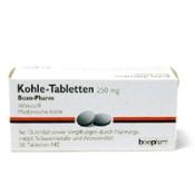Kohle-Tabletten 250 mg