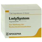 Ladysystem Vaginalkonen-Set
