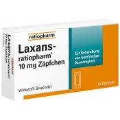 Laxans-ratiopharm® Zäpfchen