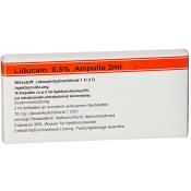 Lidocain 0,5% Ampullen