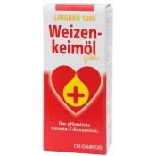 LIPIGRAN 1000 Weizenkeimöl plus Dr. Grandel