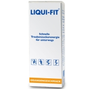 LIQUI-FIT ® Orange flüssige Zuckerlösung Beutel