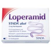 Loperamid STADA® akut Kapseln