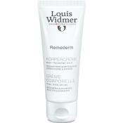 Louis Widmer Remederm Körpercreme unparfümiert
