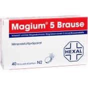 Magium® 5 Brause Brausetabletten