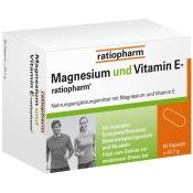 Magnesium und Vitamin E-ratiopharm®