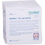 MaiMed® Vlieskompressen 10 x 10 cm unsteril