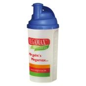 MEGAMAX® WELLNESS Mixbecher mit Siebeinsatz blau