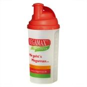 MEGAMAX® WELLNESS Mixbecher mit Siebeinsatz rot