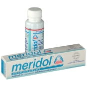meridol® Zahnpasta + Mundspülung