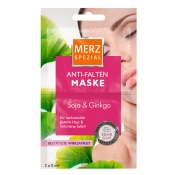 Merz Spezial Anti-Falten Maske Soja und Ginkgo