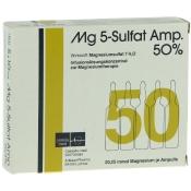 Mg 5 Sulfat 50% Ampullen