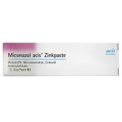 Miconazol acis® Zinkpaste