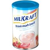Milkraft Trinkmahlzeit Pulver Erdbeer-Himbeer
