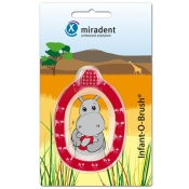 miradent Infant-O-Brush® Lernzahnbürste rot