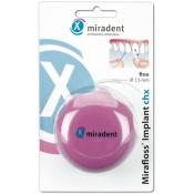 miradent Mirafloss® Implant chx fein rosa