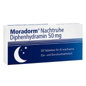 Moradorm® Nachtruhe Diphenhydramin 50 mg