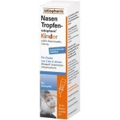NasenTropfen-ratiopharm® Kinder konservierungsmittelfrei