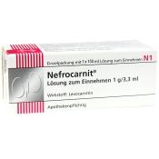 Nefrocarnit® Lösung zum Einnehmen 1 g/3,3 ml