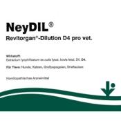NeyDIL® 43 Revitorgan®-Dilution Nr. 43 D4 pro vet.