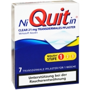 NiQuitin® Clear 21 mg transdermales Pflaster