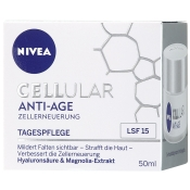 NIVEA® CELLULAR Anti-Age Tagespflege LSF 15