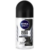 NIVEA® MEN Deodorant Invisible for Black & White Roll-on